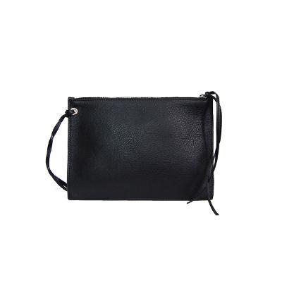 shopper tote bag black